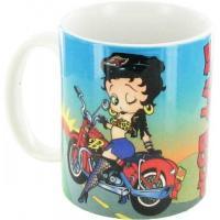 Betty Boop Biker Mug