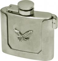 Eagle Flask with Metal Case