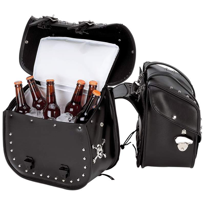 Beer Bags Motorcycle Saddlebag Cooler Set Biker Gift Shop