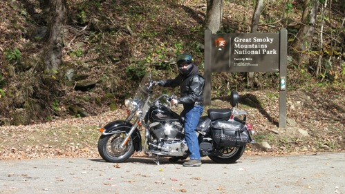 Proof I was at Great Smoky Mountains National Park