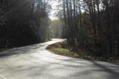 Tail of the Dragon in November