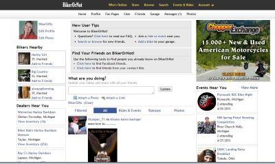 BikerorNot.com Biker Social Network